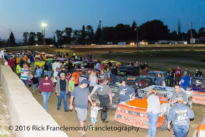 Autograph Night at Freedom Motorsports Park on August 26, 2016 Freedom, New York Photo Rick Franclemont/Francletography