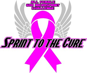 SPRINT TO THE CURE LOGO 2 RA